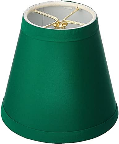 Royal Designs CS-1001-5GRN Clip On Empire Chandelier Lamp Shade, 3 .