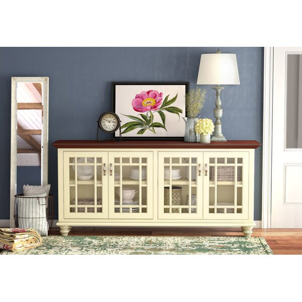 Rosecliff Heights Colefax TV Stand for TVs up to 88 inches .