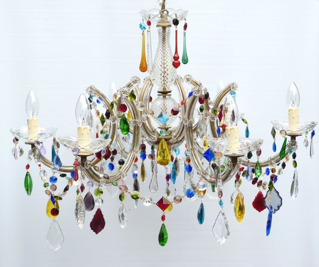 The Vintage Chandelier CompanyMulti Coloured Archives - The .
