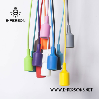 Colourful Chandeliers Lamp Parts Pendant Light Bulb Socket E27 .