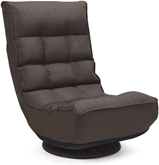 Amazon.com: Giantex 360 Degree Swivel Gaming Chair, 4-Position .