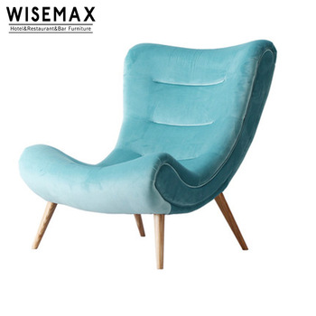 Modern home sofa furniture leisure style snail lazy single sofa .