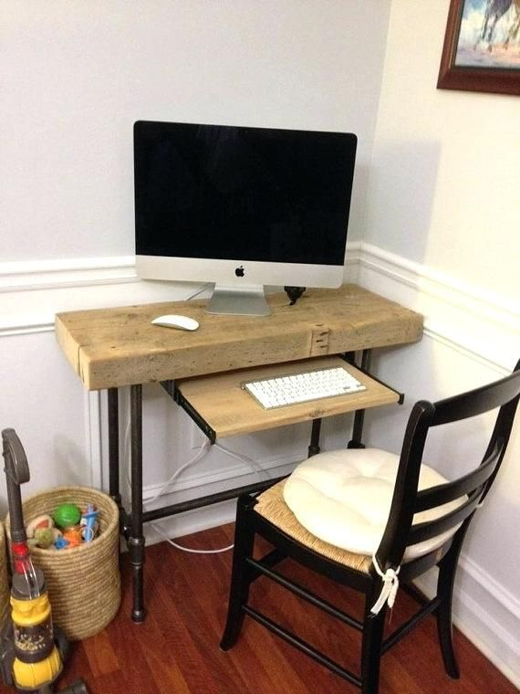 Desk Ideas Perfect for Small Spaces | Desks for small spaces, Diy .