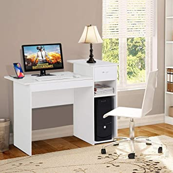 Amazon.com: Yaheetech Small Computer Desk Study Writing Table with .