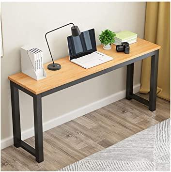 Amazon.com: ErYao Modern Computer Desk, 47.2 inch Narrow Laptop PC .