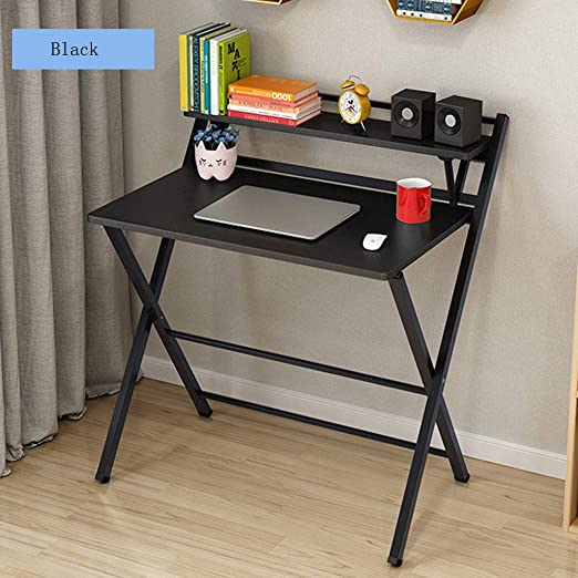 Amazon.com: Fiudx Computer Desk Corner Folding Study Desk for .