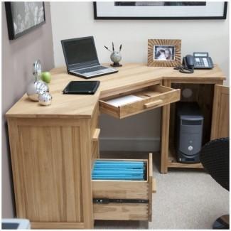 Computer Desks In Oak