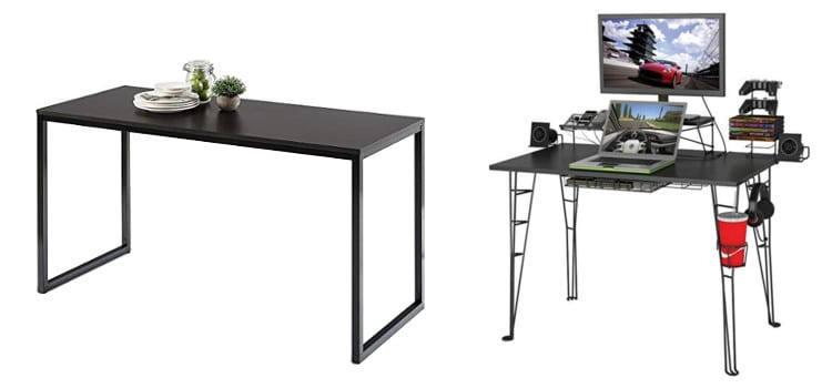 7 Cheap Computer Desks Under $100 for Gaming or Office U