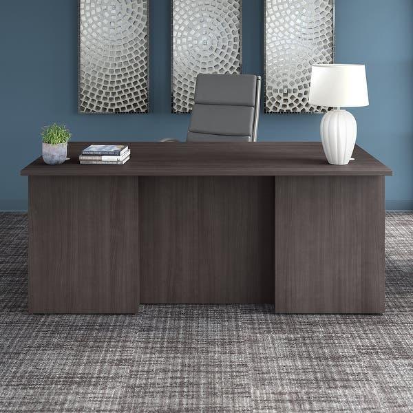Shop Office 500 72W x 36D Executive Desk by Bush Business .