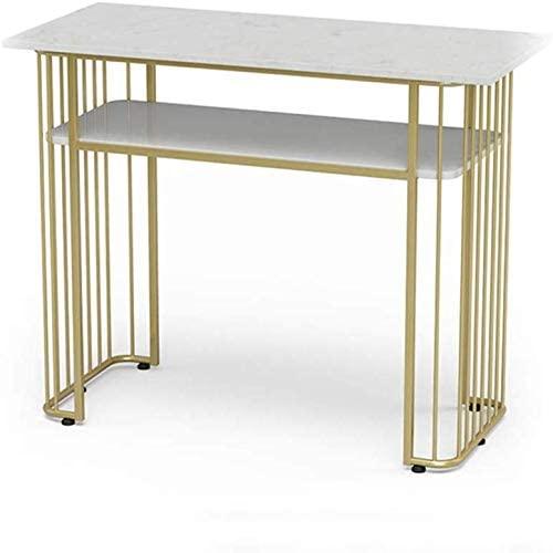 Amazon.com: SUNBAOBAO Marble 2-Story Desk, Writing Computer Desk .