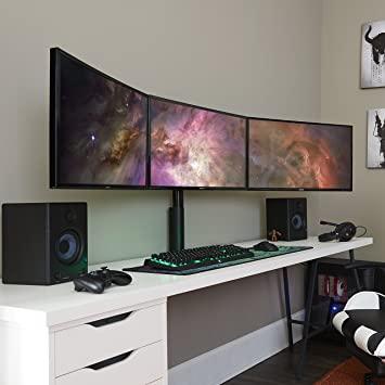 Amazon.com : ECHOGEAR Triple Monitor Desk Mount Stand for 3 .