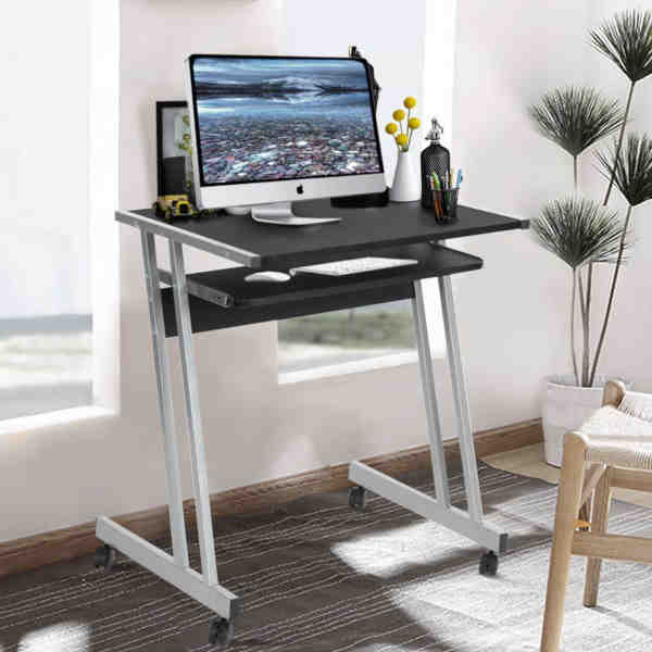 19 Affordable Small Computer Desks with Sliding Keyboard Tray – Vur