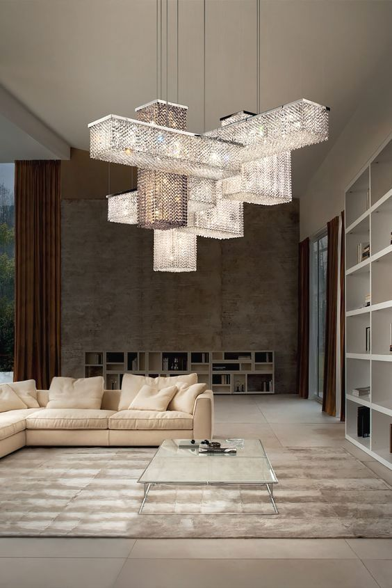 21 Beautiful Contemporary Chandeliers interiordesignshome.com .