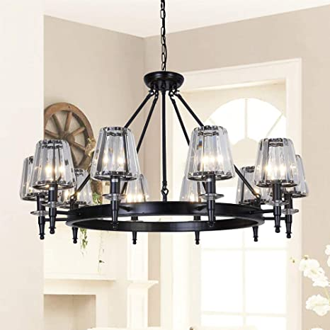 Amazon.com: OSAIRUOS Modern Crystal Chandelier Large Farmhouse .
