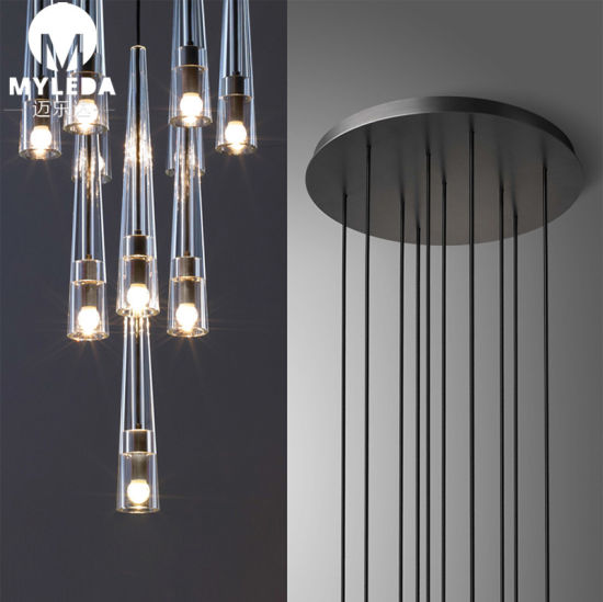 China Modern Chandelier Contemporary Linear Ceiling Lamp Pendant .