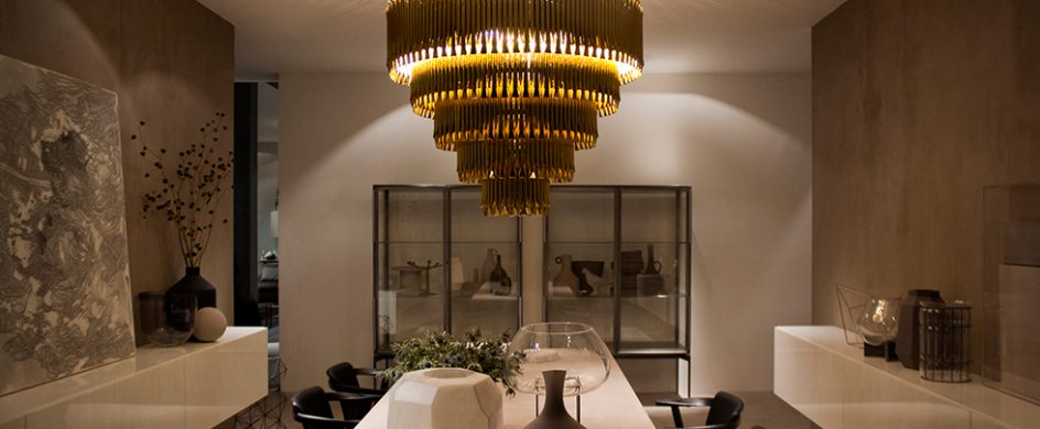CONTEMPORARY CEILING LIGHTS FOR A DINING LIVING ROOM | Miami .