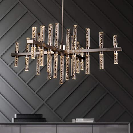 MEEROSEE Modern Chandelier Lighting Led Pendant Lights Fixture .