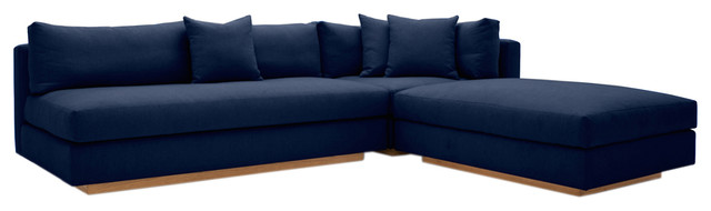 Modern Pch Comfortable Reversible Sectional Sofa, Usa Made .