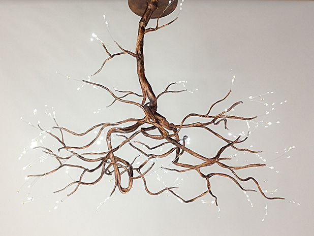 Copper Chandelier – incelemesi.net in 2020 | Rustic lighting diy .