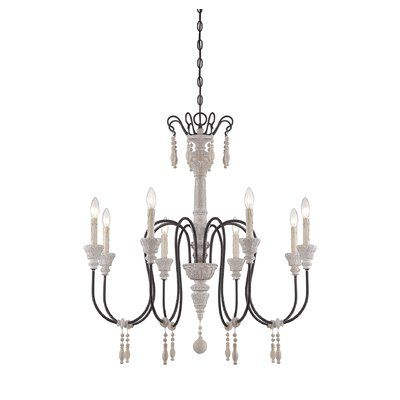 Lark Manor Ambrette 4-Light Candle Style Chandelier | Chandelier .