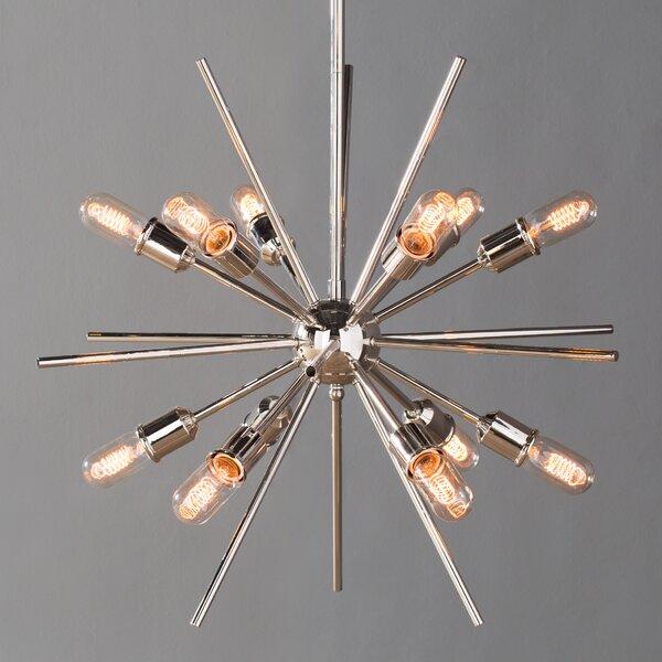 Corona 12-Light Sputnik Chandelier & Reviews | AllMode