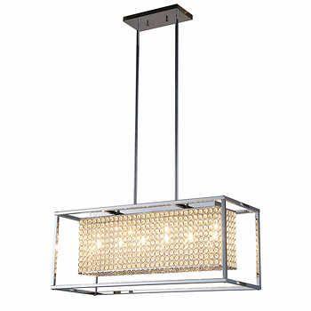costco 329 | Led chandelier, Chandelier, Home lighti
