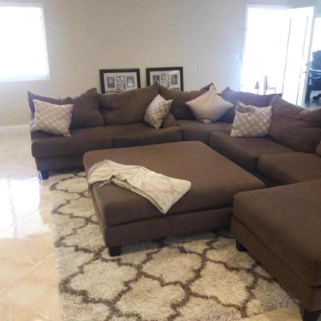 Best Big Sectional With Ottoman for sale in North Las Vegas .