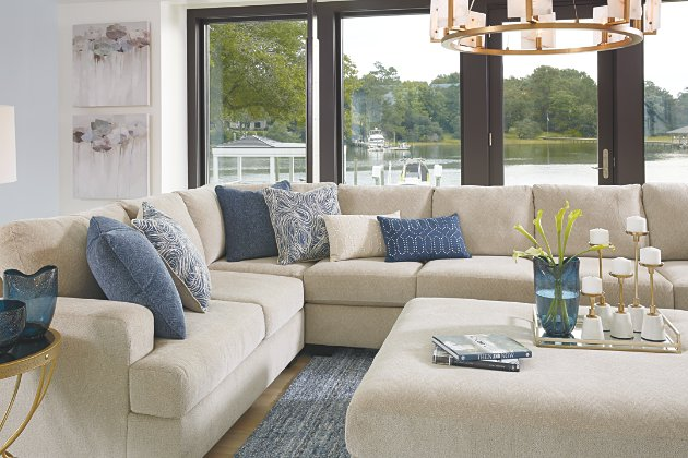 Enola Oversized Ottoman | Ashley Furniture HomeSto