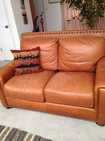 Leather Sofa & Love seat - $350 (san jose south) // Craigslist .