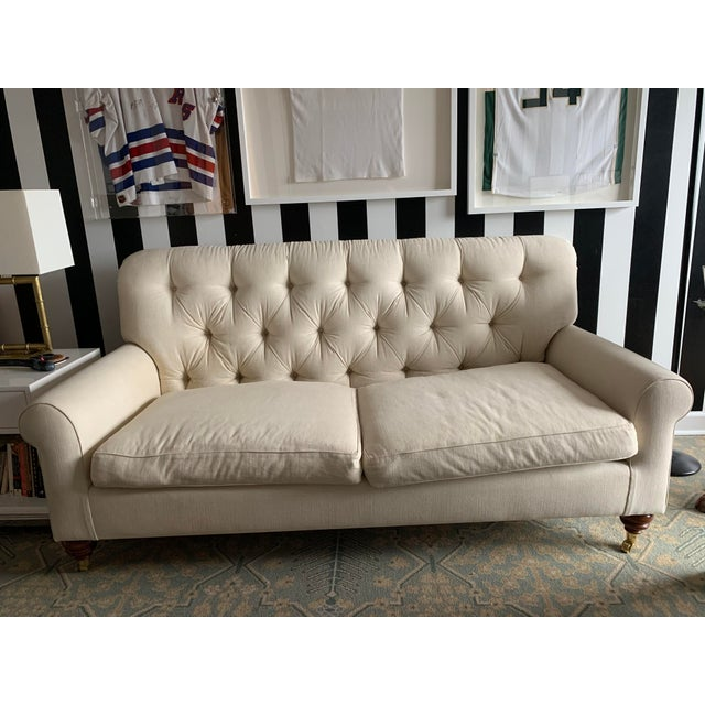 Cream Colored Sofa | Chairi