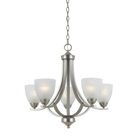 Crofoot 5-Light Shaded Empire Chandelier | Chandelier shades .