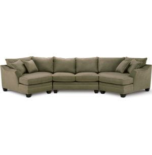 3 Piece Dual Cuddler Sectional | Sectional sofa, Furniture, Section