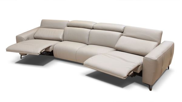 Fosters Furniture. Bracci Zeus Curved Reclining Sectional 14