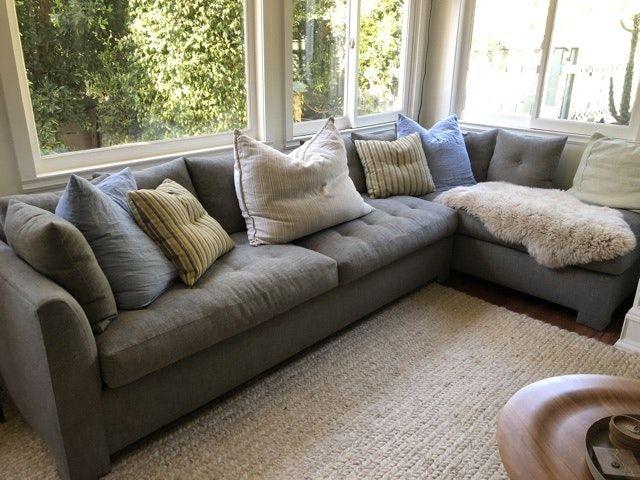 Custom made large cozy sectional sofa | Sofa, Sectional sofa, Home .