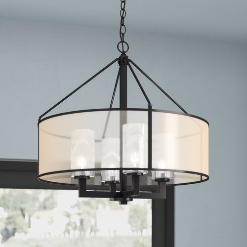 Dailey 4-Light Drum Chandelier | Drum chandelier, Drum shade .