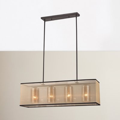 Brayden Studio Dailey 4 - Light Kitchen Island Linear Pendant .