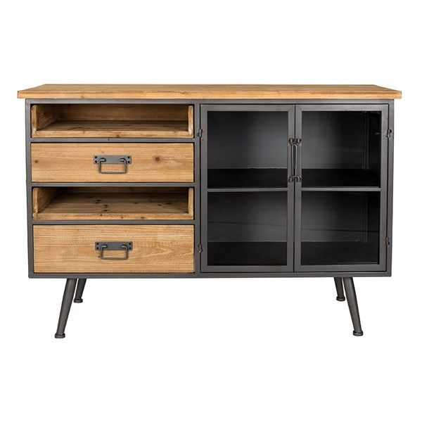 Damian Industrial Sideboard | Unique furniture pieces, Furniture .