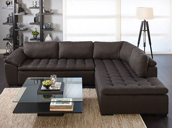 Dania - Sectionals - | Contemporary home furniture, Deep seated .
