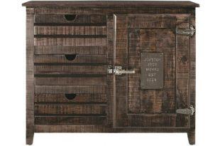 Laurel Foundry Modern Farmhouse Deana 3 Drawer 1 Door Accent .