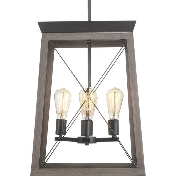 Laurel Foundry Modern Farmhouse Delon 4 - Light Lantern Square .
