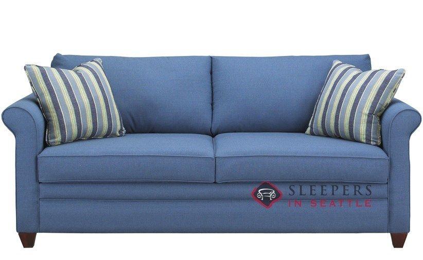 Savvy Denver Queen Sleeper Sofa | Blue sleeper sofa, Sleeper sofa .
