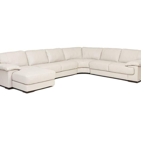 Denver Smoke Sectional | Natuzzi | Star Furniture | Houston, TX .