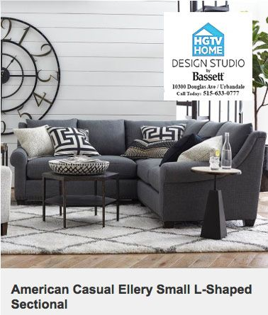 HGTV Home Design Studio by Bassett is your Des Moines Furniture .