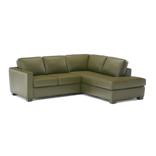 Italsofa I-161 Sectional with Chaise - Des Moines, Urbandale, West .