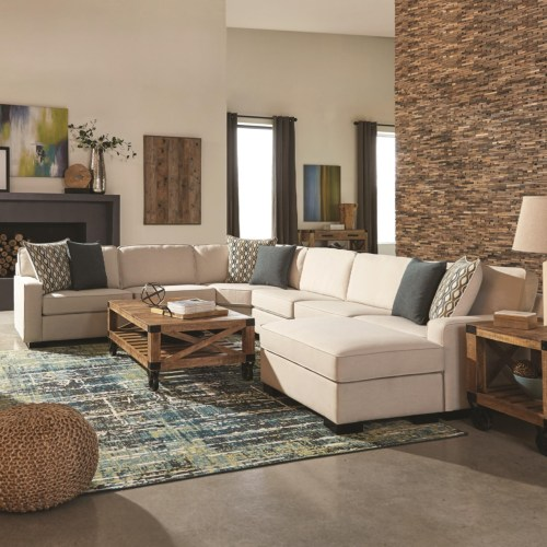 Coaster #551311 Wylder Sectional Sofa - Curley's Furniture Store .