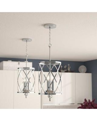Amazing Deal on Willa Arlo Interiors Dirksen 3 - Light Lantern .