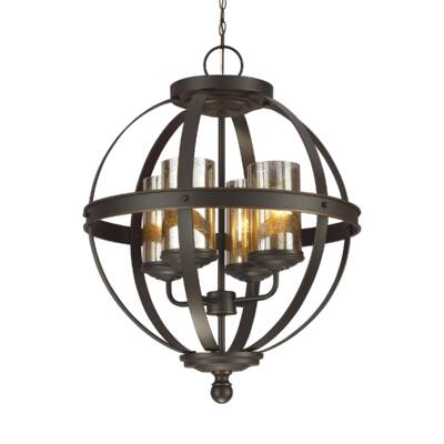 Birch Lane™ Heritage Donna 6 - Light Globe Chandelier & Reviews .