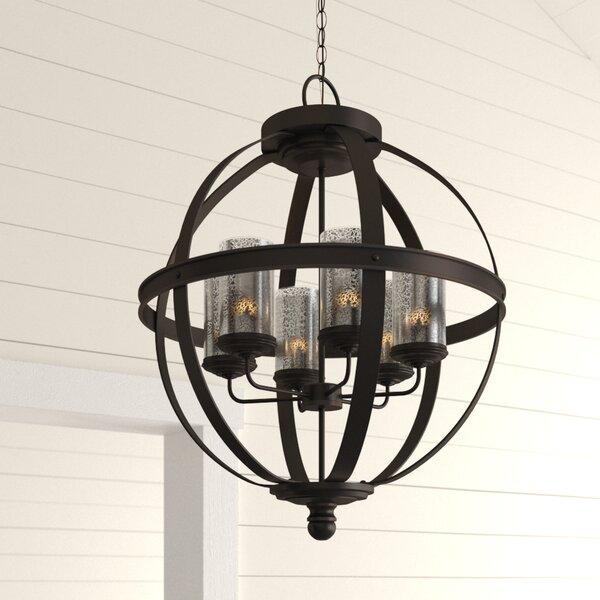 Donna 4 Light Globe Chandeliers