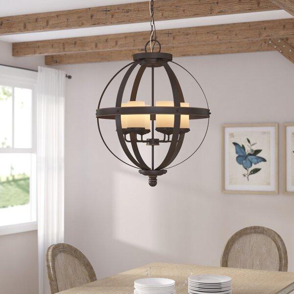 Birch Lane™ Donna 6 - Light Globe Chandelier & Reviews | Wayfa