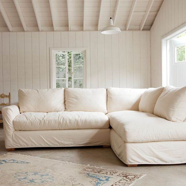 Shabby Chic Slipcovered Furniture | Rachel Ashwell | Comfortable .
